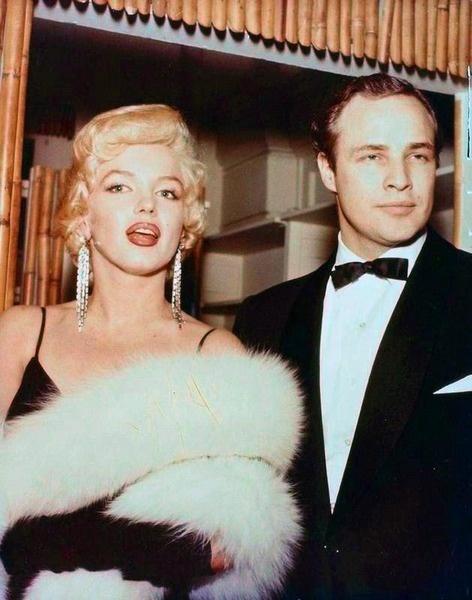 Marilyn And Marlon Brando