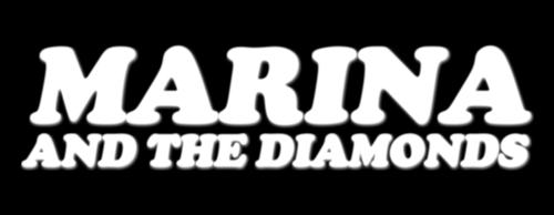 S8rah karatasi la kupamba ukuta entitled marina and the diamonds!