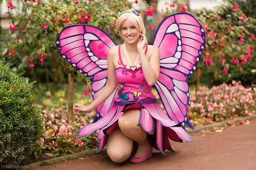 Barbie Movies wallpaper entitled Mariposa Cosplay