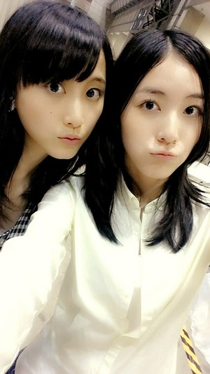 Matsui Jurina with Matsui Rena