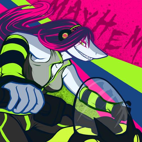 LapFox wallpaper containing Anime called Mayhem Bike