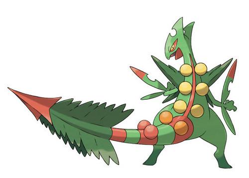 pokemon wallpaper entitled Mega Sceptile