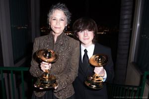 Melissa McBride & Chandler Saturn Awards