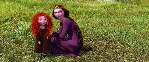 Merida with her mother