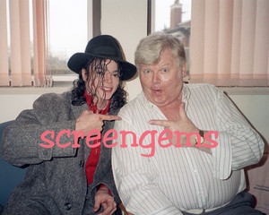Michael And The Legendary British-Born Comedian, Benny colline