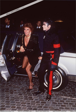 Michael And The Lovely Sophia Loren