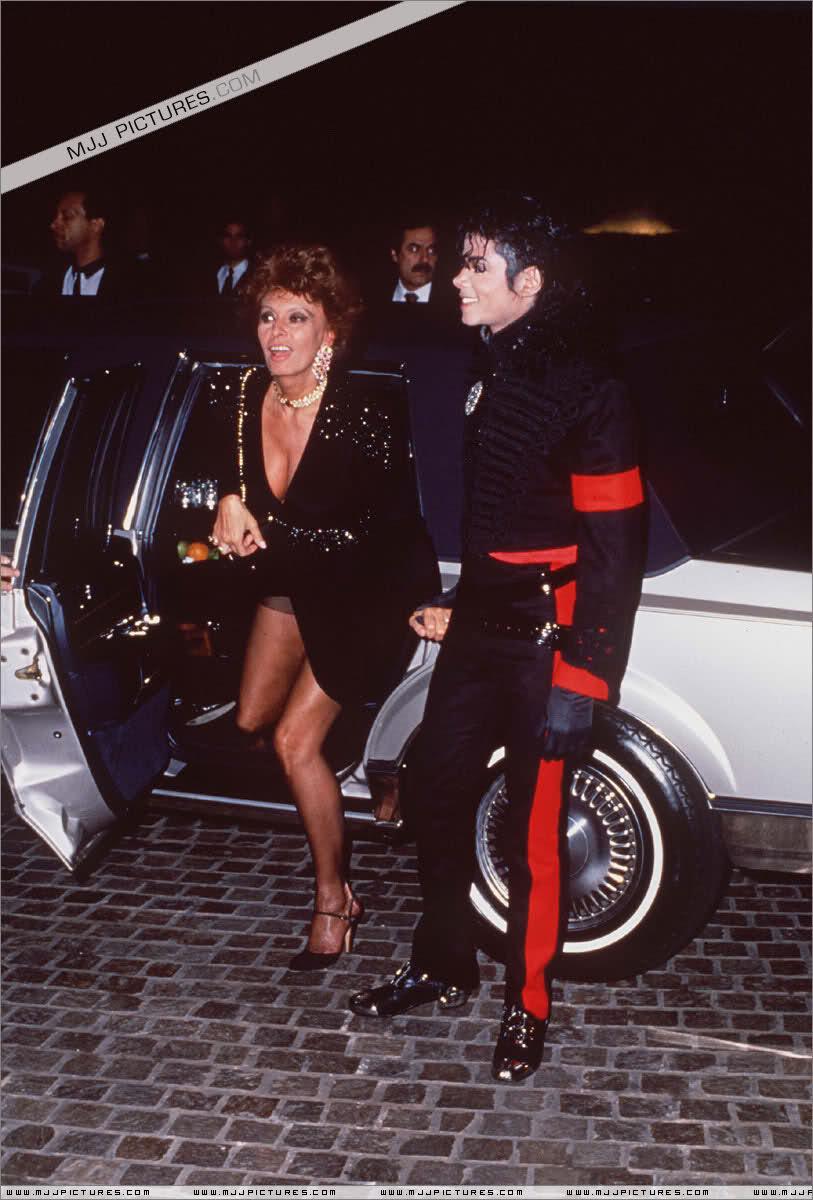 Michael And The Lovely Sophia Loren
