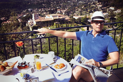 Michael Weatherly hình nền containing a lunch, a brunch, and a bữa tối, bữa ăn tối called Michael Weatherly// CBS Watch Magazine 2014