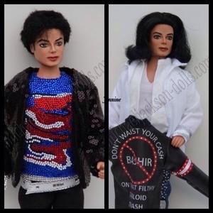 Michael muñecas