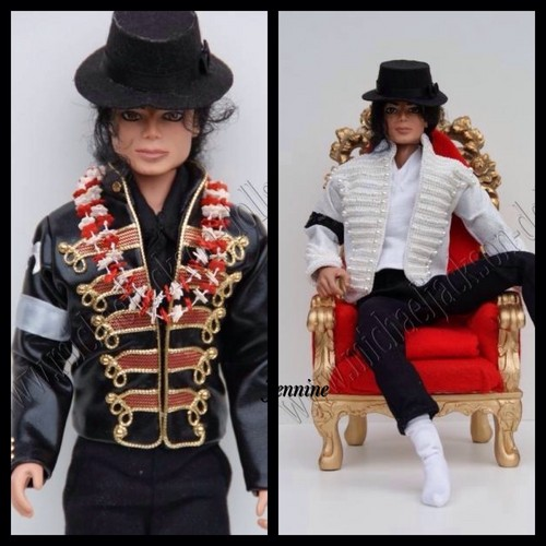 Michael Jackson wallpaper containing a full dress uniform entitled Michael dolls