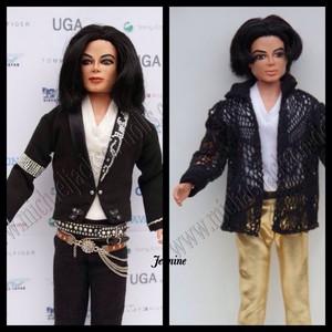 Michael 玩偶