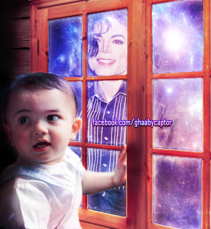 Michael jackson and blanket jackson