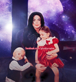Michael jackson prince jackson and paris jackson - michael-jackson photo