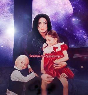 Michael jackson prince jackson and paris jackson