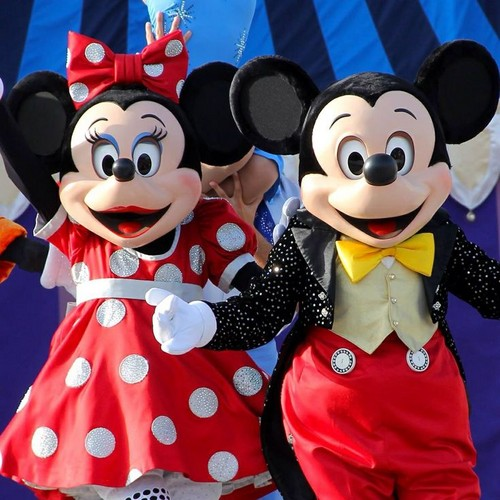 Disney wallpaper titled Mickey and Minnie