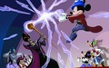 Mickey vs. Jafar - childhood-animated-movie-villains wallpaper
