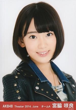 Miyawaki Sakura - AKB48 Theater 2014 June