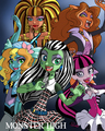 Monster High (Anime) - monster-high fan art