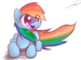 More Rainbow Dash - rainbow-dash icon
