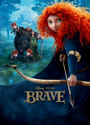 "Movie Poster For The 디즈니 Film, ""Brave"""