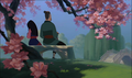 Mulan and her Father - mulan photo