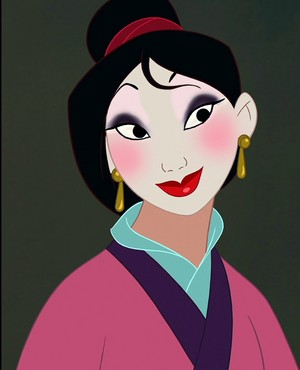Mulan's re-visioned look