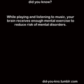 Music and Mental Health - music photo