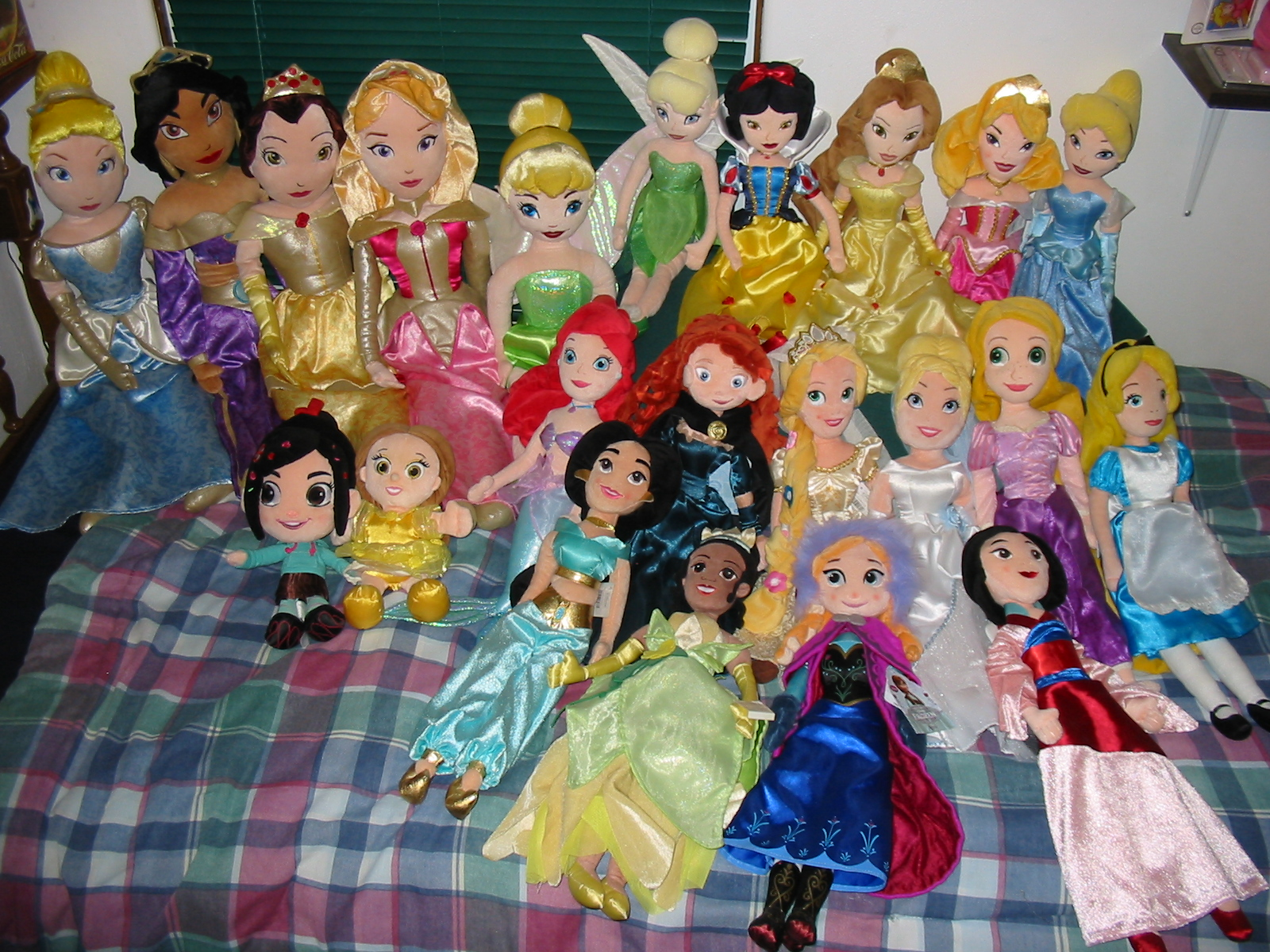 My princess plushie collection disney princess photo 37208262