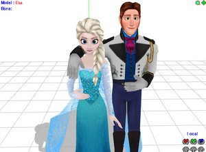 My Progress on Elsa and Hans MMD modelos