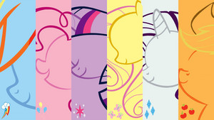 My little poni, pony Friendship is magic <3