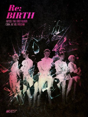 NU'EST mysterious group picture for first album 'Re:BIRTH'