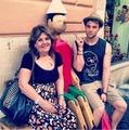Nate and his mom ღ - nathaniel-buzolic photo