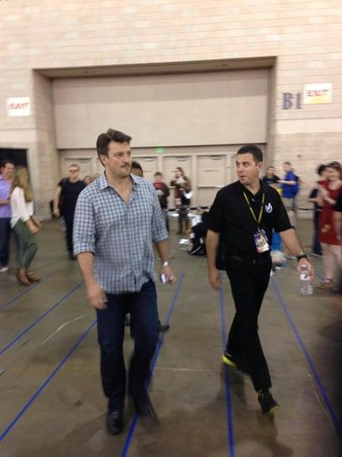 Nathan Fillion fond d'écran possibly containing a rue called Nathan(June,2014)