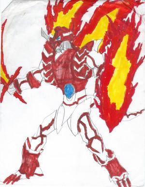 Natsu Dragneel Dragon Hunter Mode