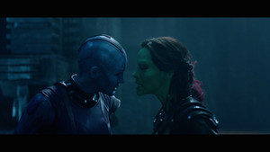 Nebula and Gamora