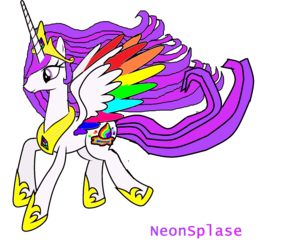 Neon Splase........My type of Celestia XD