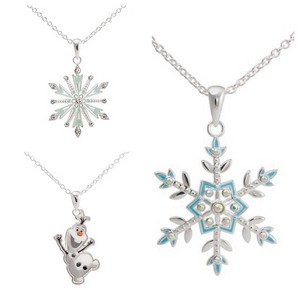 New La Reine des Neiges Necklaces