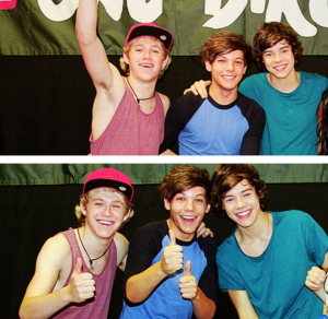 Niall,Louis,Harry