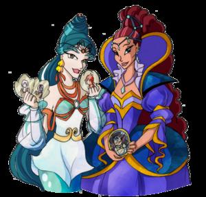 Niobe & Ligea