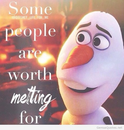 Frozen images Olaf Quote wallpaper and background photos ...