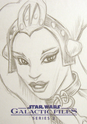 Oola Sketch Card