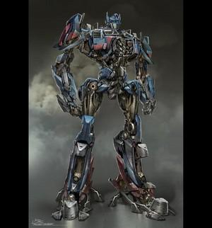 Optimus Prime Concept Art