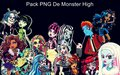 Pack de Png Monster High