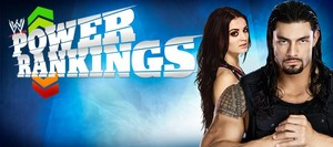 Paige and Roman Reigns