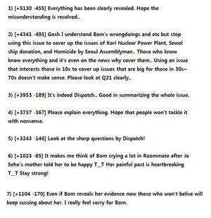 Park Bom Drug 스캔들