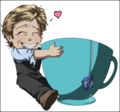 Patrick Jane and His cup of Tea. - patrick-jane fan art