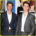 Patrick Schwarzenegger  - david-henrie photo