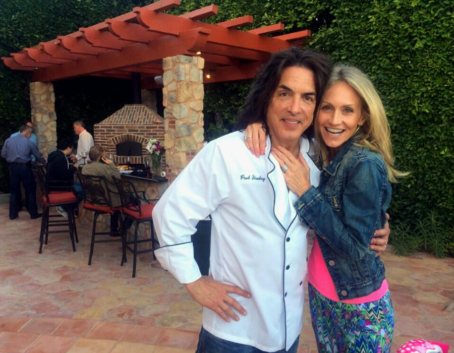 Paul Stanley Images Paul And Erinpizza Night With Friends Hd