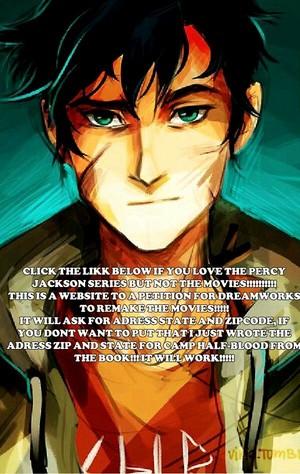 Percy Jackson Movie Petition!!