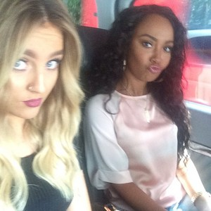 Perrie and Leigh today